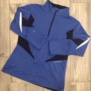 Brooks 1/4 Zip Running Jacket